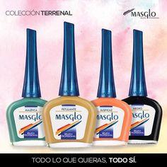 Nueva Coleccion Masglo, #Esmaltes, #masglo #uñas China Glaze, Cleaning Supplies, Bottle, Nails, Pretty, Ebay, Drink, Collection, Food