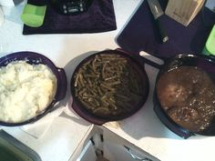 3 course dinner in my microwave stack cooker Www.my2.tupperware.com/aprilfly order yours today :)