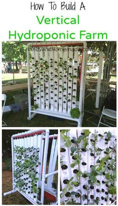 How To Build A Vertical Hydroponic Farm DIY