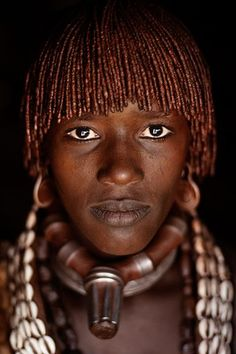 Hamar woman , Ethiopia photography by Alison Wright