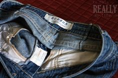 """Love designer denim but don't have room for more in your closet? I give some great tips in this """"how to"""" for selling your designer jeans on eBay...making room for a few new pairs! #ebayparent"""