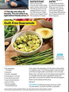 Guilt free guacamole