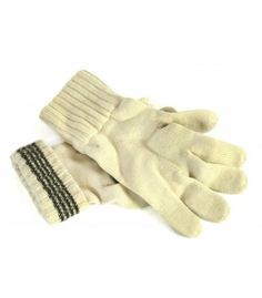Khaki Genuine Swedish Army Issue Combat Winter Knitted Wool Gloves