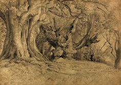 Ancient Trees, Lullingston, Samuel Palmer