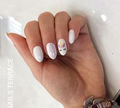 Best ideas for nails art pastel inspiration Gelish Nails, Nail Manicure, Nail Polish, Trendy Nails, Cute Nails, Hair And Nails, My Nails, Unicorn Nail Art, Unicorn Nails Designs