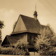 Bieruń Stary, drewniany kościół św. Walentego. 9 km od naszego hotelu. Old Bierun, Silesia, wooden church of Saint  Valentine. 9 km from our hotel.