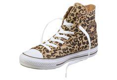 """Ein """"Must Have"""" für diesen Sommer sind Sneaker in Leo-Optik, einfach genial :) Converse"""