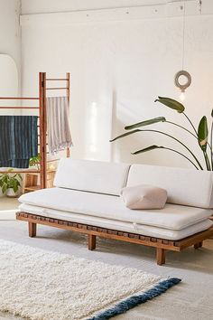 Slide View: 1: Osten Convertible Daybed Sofa