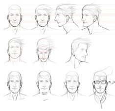 orthographic character sheet - Google Search