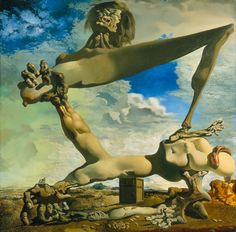 salvador dali, soft construction with boiled beans