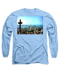 Long Sleeve T-Shirt - Stone Cross In Cartagena Colombia