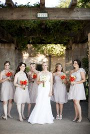 Thinking dark grey but these light grey dresses are also very pretty...