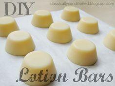 Easy 3-Ingredient Lotion Bars Tutorial