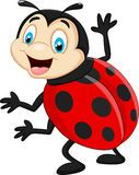 One Excited Ladybug