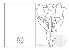 Abc Coloring Pages, Flower Coloring Pages, Coloring Books, Anime Drawings Sketches, Easy Drawings, Cute Crafts, Diy And Crafts, Diy Lace Ribbon Flowers, Geometric Origami