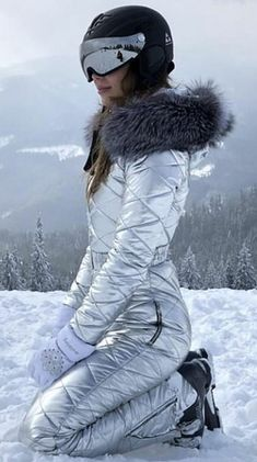 silver | skisuit guy | Flickr
