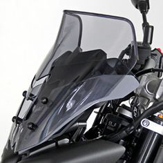 Bulle MRA NS - Spoiler Naked Bikes - transparent KAWASAKI