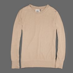 Jungmaven Long Sleeve Crew Neck in Canvas Angle
