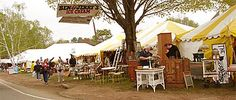 Brimfield, Ma antique fair.  three times a year in may, july, and sept The thrill of the hunt.... I am going here some day!