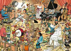 Jan van Haasteren: De Artiesten (150 stukjes)