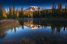 Reflection Lake by Sven Müller on 500px