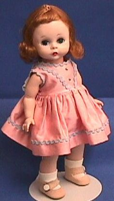Madame Alexander Wendy dolls came into my life as an adult.