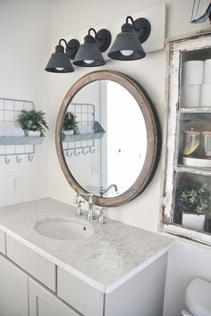 simple farmhouse bathroom vanity light fixture