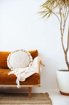 Pampa cushion, throws and rugs shot by @bobbysndtide