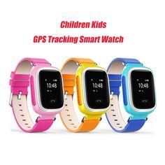 Kid GPS Tracking Smart Watch Wristwatch SOS Call Location Finder Locator Device Tracker for Kid Safe Anti Lost Monitor Baby Gift Digital Guru Shop