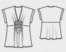 Patrón gratis blusa o túnica sencilla (de Burda) | Aprender manualidades es facilisimo.com