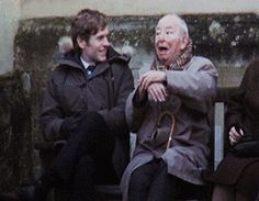 Shaun Evans and Colin Dexter
