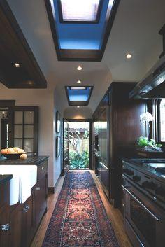 Cozinha elegante e aconchegante