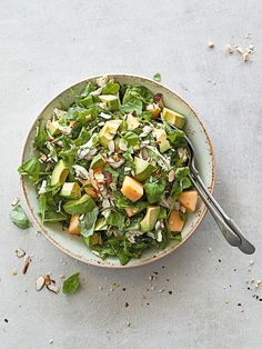 Chicken Salad with Moroccan Dressing. Photo / Annabel Langbein Media