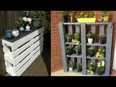 raklap bútor készítés - Google-keresés Share Pictures, Animated Gifs, Pallet Furniture, Awesome, Plants, Google, Youtube, Home Decor, Decoration Home
