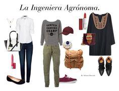 La Ingeniera Agrónoma, versátil. Con look de oficina; look de campo; look arreglado y boho. Una chica todo terreno.