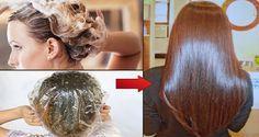 Εφαρμόζει αυτή την μάσκα στα μαλλιά της και την αφήνει για 15 λεπτά.. Το αποτέλεσμα θα σας αφήσει με το στόμα ανοιχτό! #Μαλλιά