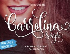 "Check out new work on my @Behance portfolio: ""Carrolina Script"" http://be.net/gallery/49911877/Carrolina-Script"