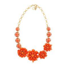 azalea necklace j. crew