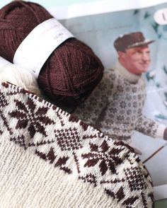 Stjernegenser Fair Isle Knitting, Knits, Knit Crochet, Sewing Projects, Arts And Crafts, Sweater, Boys, Ideas, Sweater Cardigan
