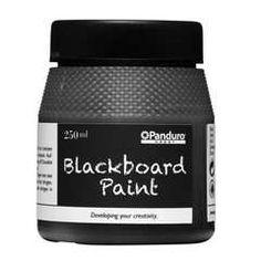 89:-  Skoltavelfärg 250 ml svart - Färg, lim & lack för pysslaren
