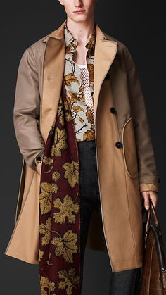 Burberry Prorsum Reversible Trench Coat