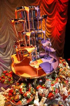 weddings-chocolate-fountain-the-pink-