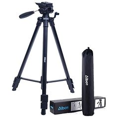 "Color : Black LLluckyHW Lightweight Tripod Twist Lock Bag for DSLR Camera Handycam Camcorder Bubble Level Tripod Camera Tripod 65/"""