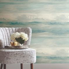 Soothing Mists Scenic Peel and Stick Wallpaper from York Wall Coverings. $50.00 per single roll. You searched for simply candice - Lelands Wallpaper. #wallpaper #homedecor #designwithwallpaper Coastal Wallpaper, Metallic Wallpaper, Modern Wallpaper, Candice Olson, Color Swirl, Instagram Worthy, Peel And Stick Wallpaper, Timeless Design, Mists