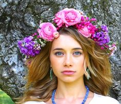 how to make flower crowns; olesya rulin; kelly lee; kelly golightly; la flower mart; la flower market; los angeles flower mart; southern california flower mart