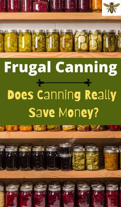 "Does canning food really save you money? Canning is definately worth it but you need to know a few tips and tricks, check out ""Frugal Canning""! Pressure Canning Recipes, Canning Pressure Cooker, Canning Tips, Pressure Cooker Chicken, Home Canning, Pressure Cooker Recipes, Pressure Cooking, Canning Granny, Canning Supplies"
