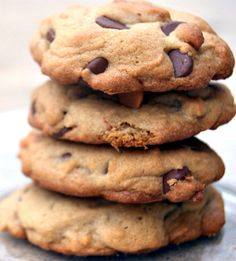 Salty Butterscotchy Chocolaty Yummy Cookies #nutella #cookie #recipes