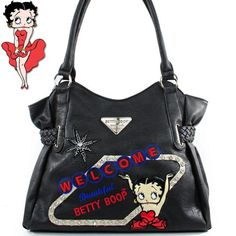 Betty Boop Fashion Unique Betty Boop Character Embroidere...