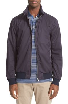 Main Image - Paul   Shark Packable Bomber Jacket extremely lightweight,  this travel-ready 00eab07dfe