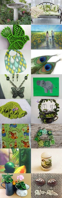 Tempting Garden Finds by Susan McAnany on Etsy--Pinned with TreasuryPin.com
